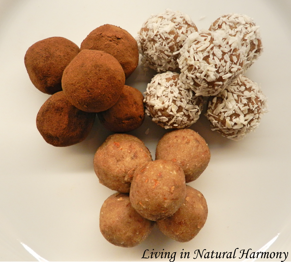 Recipe: raw truffles with nuts and dates