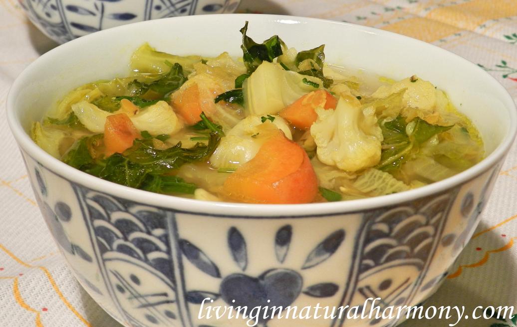 Rezept: Curry-Linsen-Gemüsesuppe