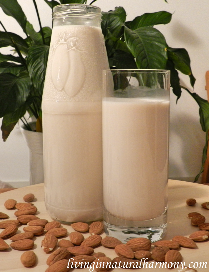 Recipe: Raw nut milk