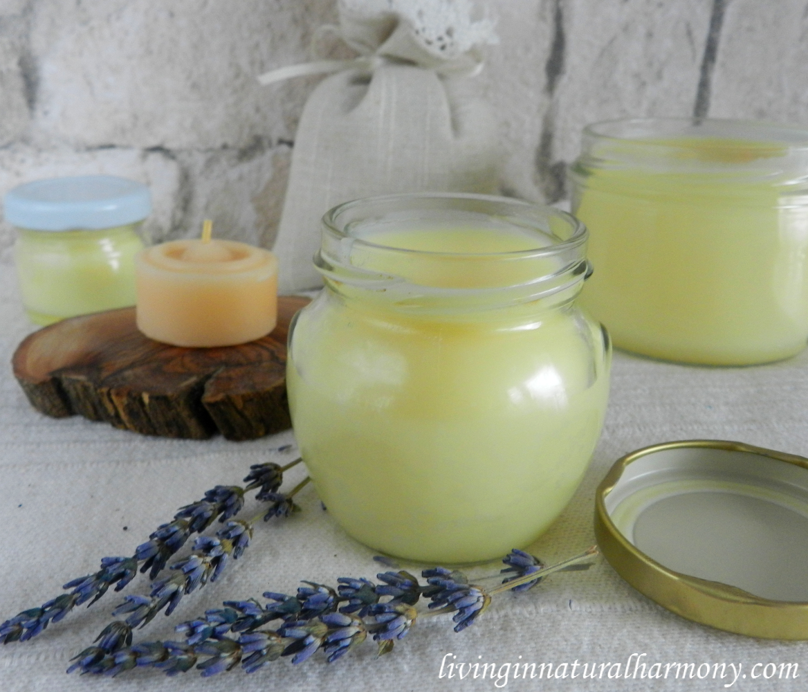 DIY: Homemade natural body cream